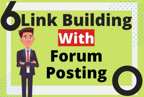 Create 12 High Quality Backlinks with Forum Posting