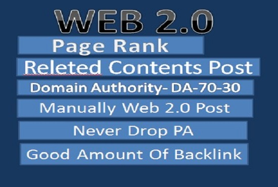 Manually high quality 50+ backlinks web 2.0 fast delivery