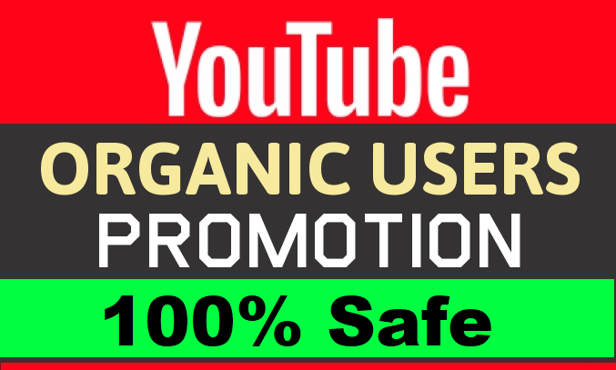 Real and Active YOUTUBE video Promotion and Marketing