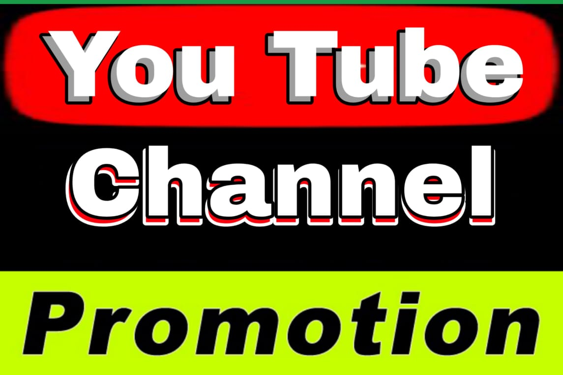 HQ YouTube Account Promotion and Marketing with Real Visitors