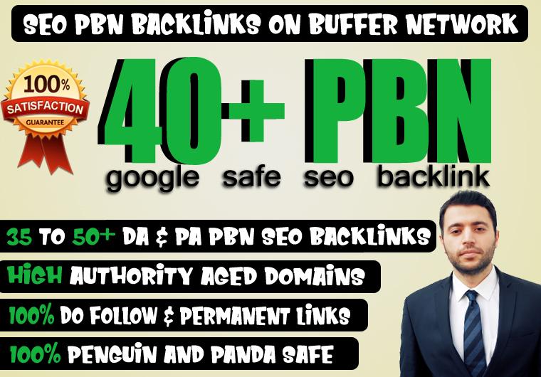 40+ High Quality Dofollow PA DA TF CF HomePage PBN Backlinks