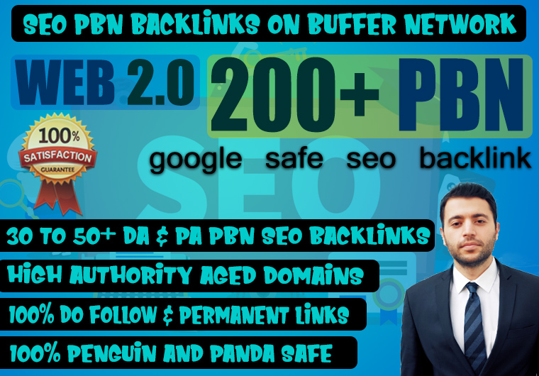 Build premium 200 Backlink web 2.0 with permanent dofollow Trustfollow on high da pa