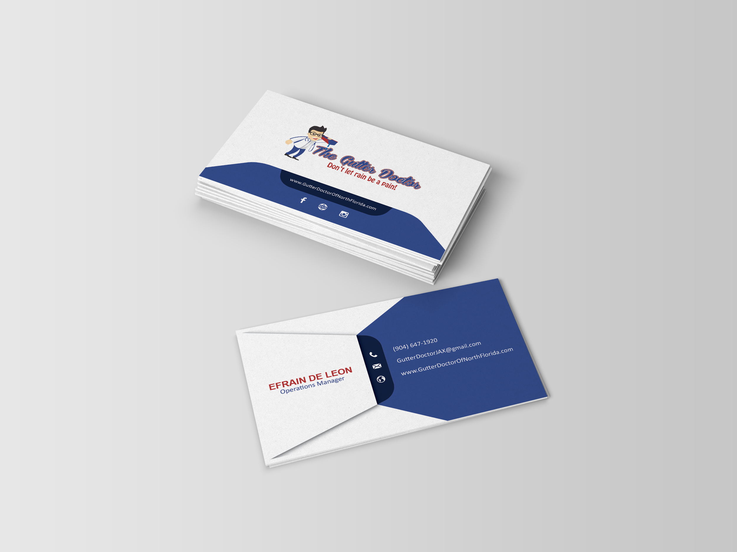 I will do a custom business card design