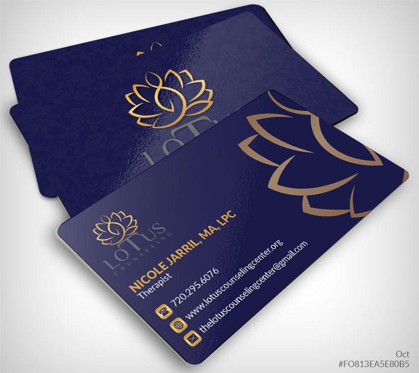 I will do a custom business card design