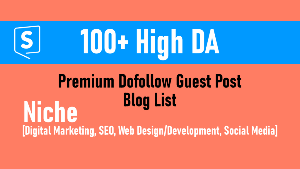 Special Offer 2020 - Write and Publish Guest Post on 10 High Quality Niche DA 50+ Backlinks Sites