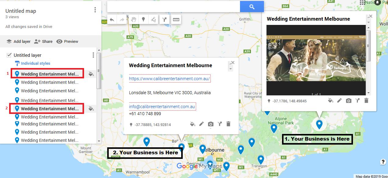 I will manually make 2000 google map citations for local SEO