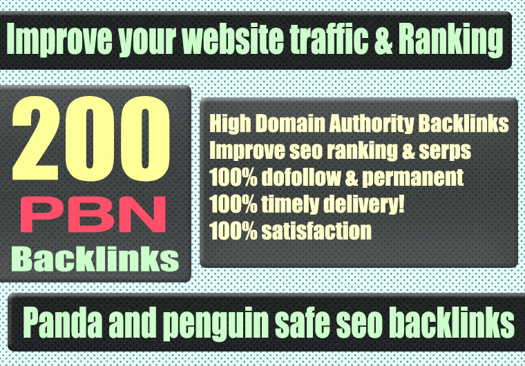 Build 200+ WEB 2.0 PBN Backlink with Permanent Dofollow & High DA PA TF CF