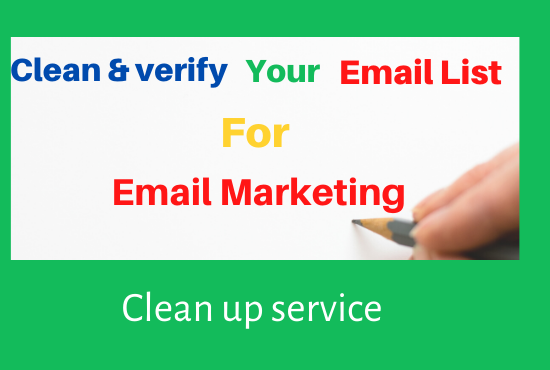 provide targeted verified email list and create a fascinating template