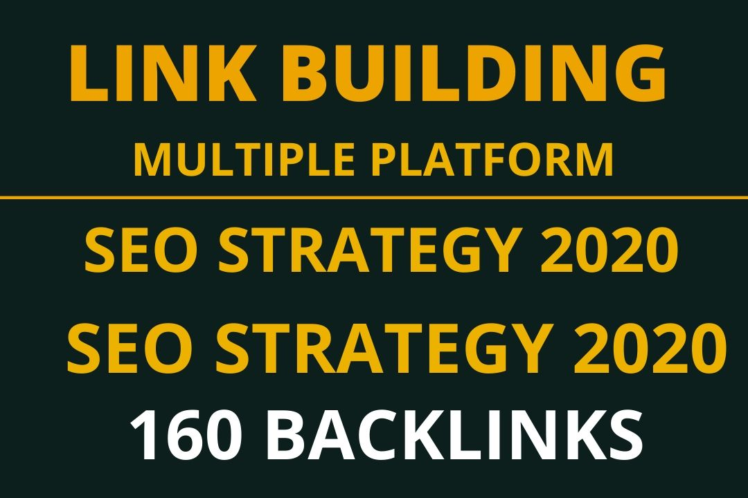 Monthly Link Building Campaign or Offsite SEO with various avenue.