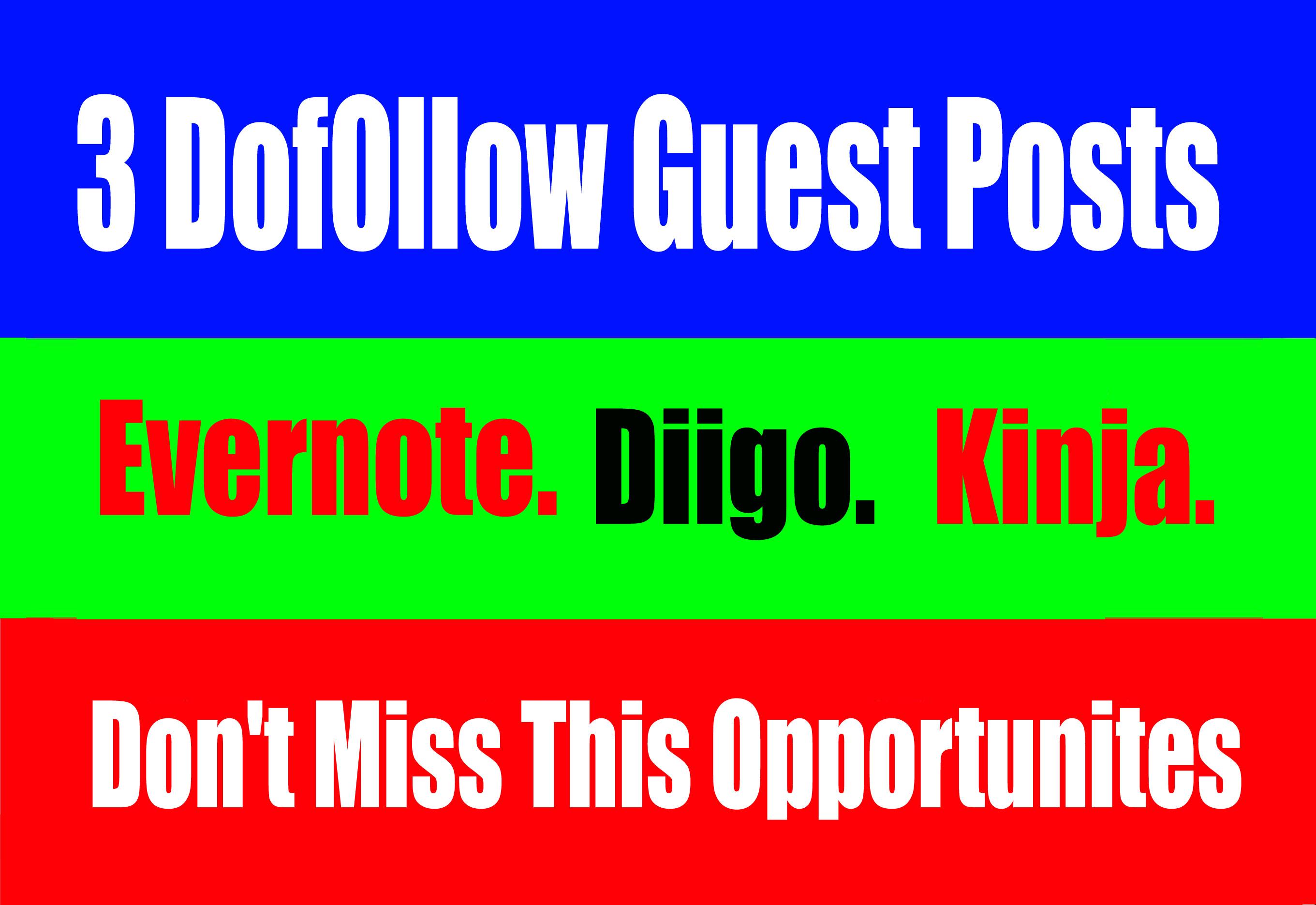 3 Dof0llow Guest post On. High DA 90+ websites Boost your SEO Ranking