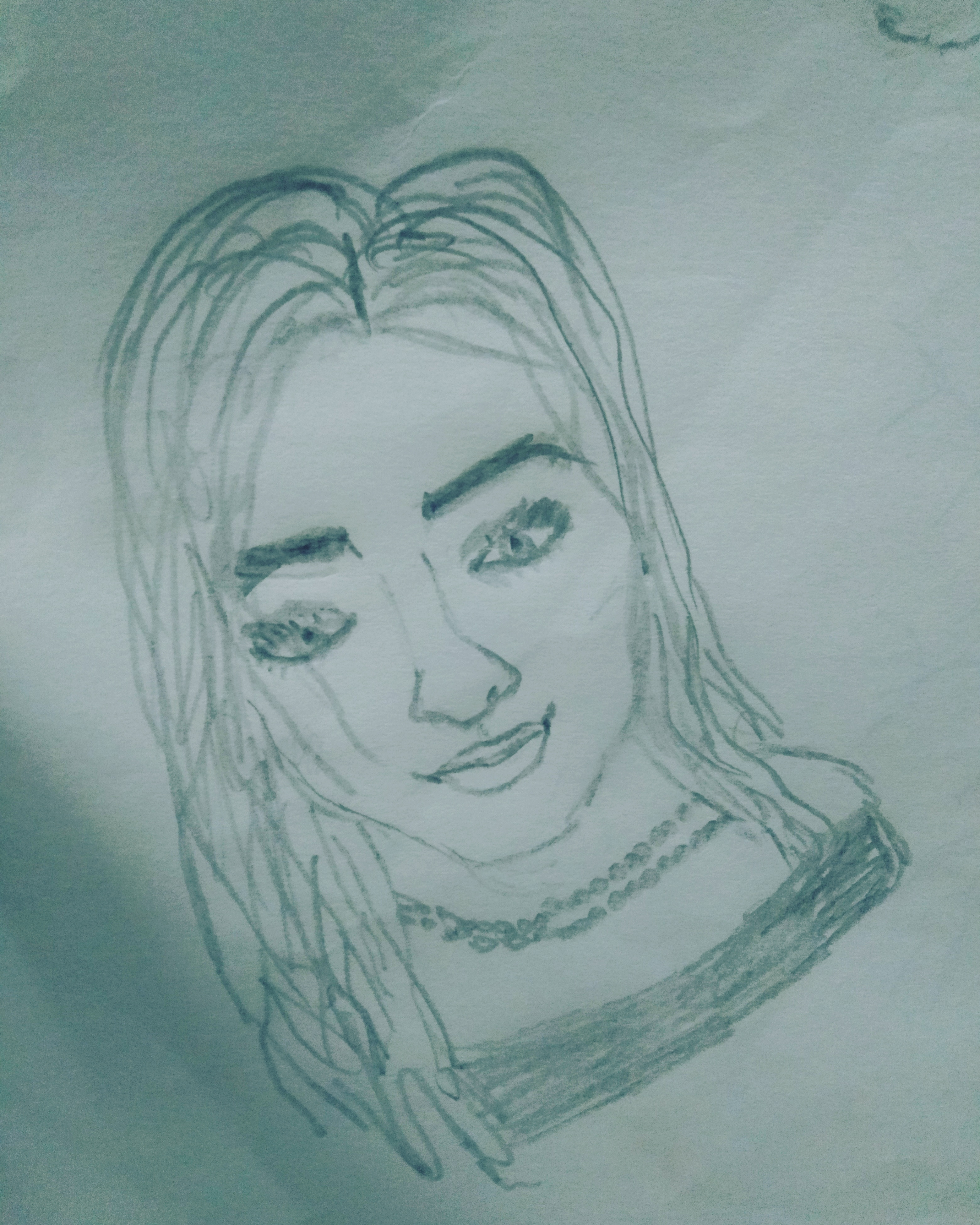 I will make a sketch of you or any other person you want.