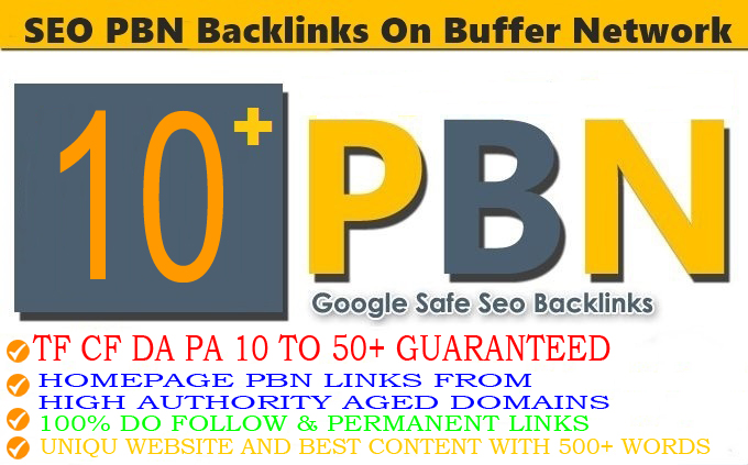 10+ Permanent PBN Backlink with with High On your homepage with PA DA TF CF Unique website