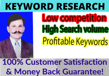 do SEO keyword research for google top ranking