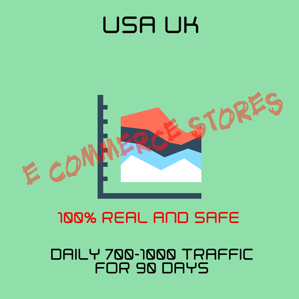USA Web Traffic To Website For 90 Days