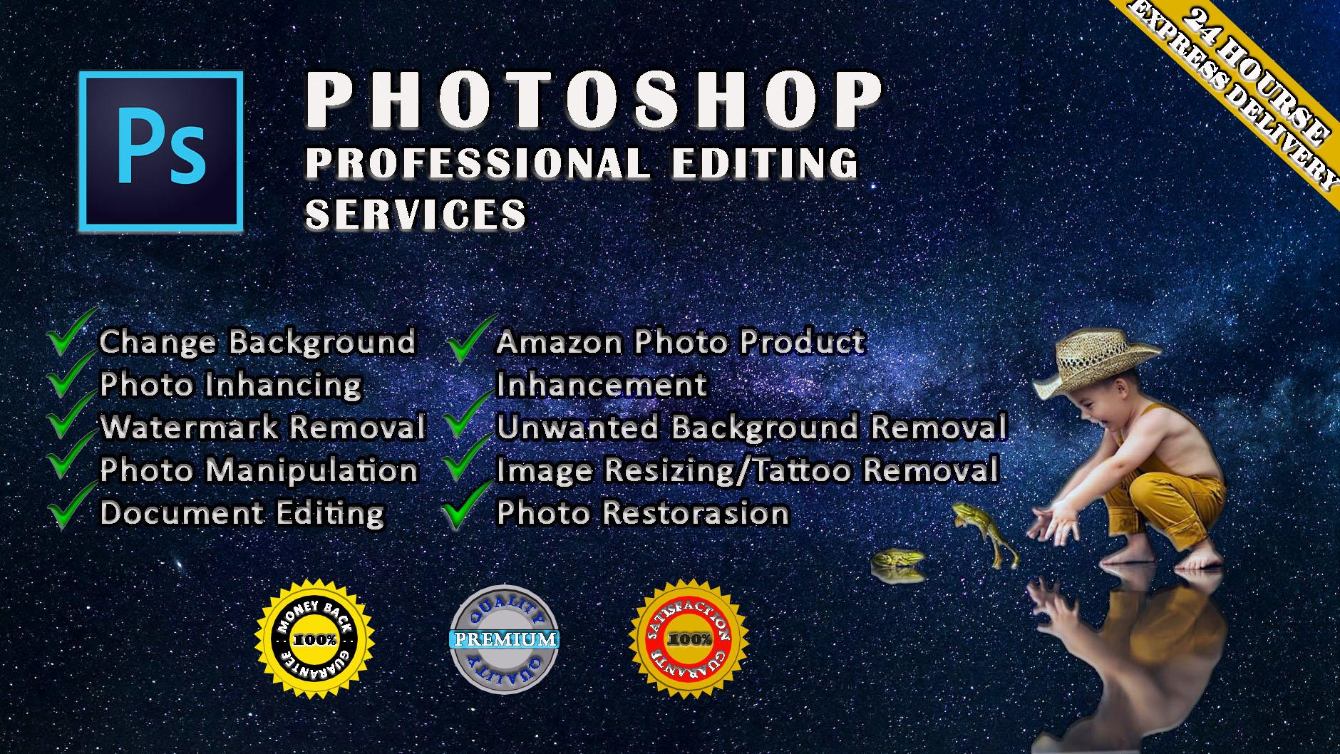 I am Graphic designer do Photoshop editing service professionally