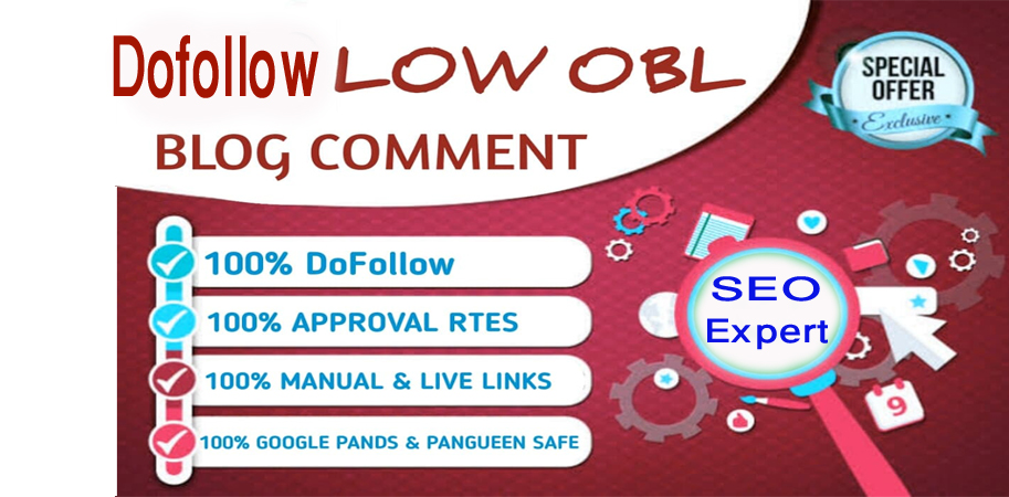 Build 100+ SEO Dofollow Blog Comments on High DA PA