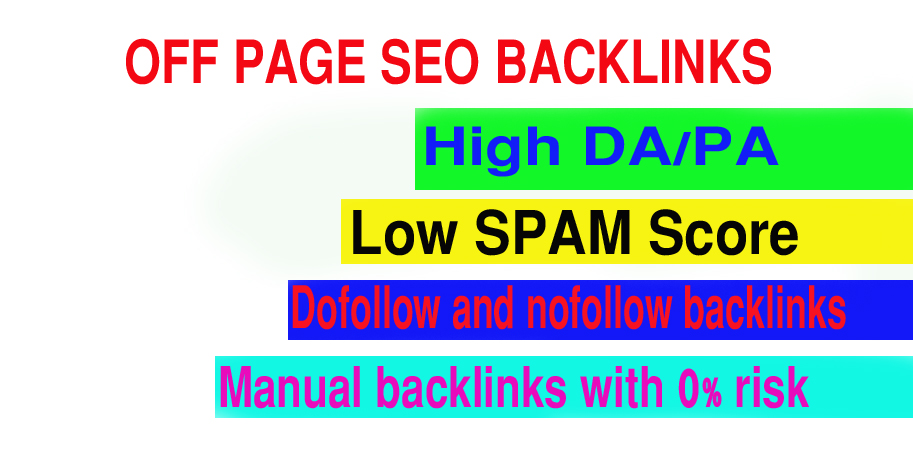 Google first page ranking on my powerful seo 270 backlinks