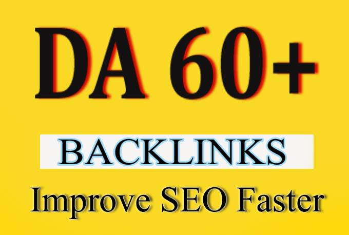 Will Provide you 5 PBN backlinks DA 60 Unbeatable Backlinks For Good SEO Results