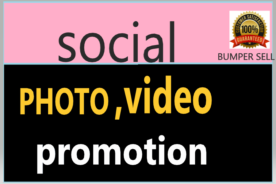 Get provide social post and video promotion instant start