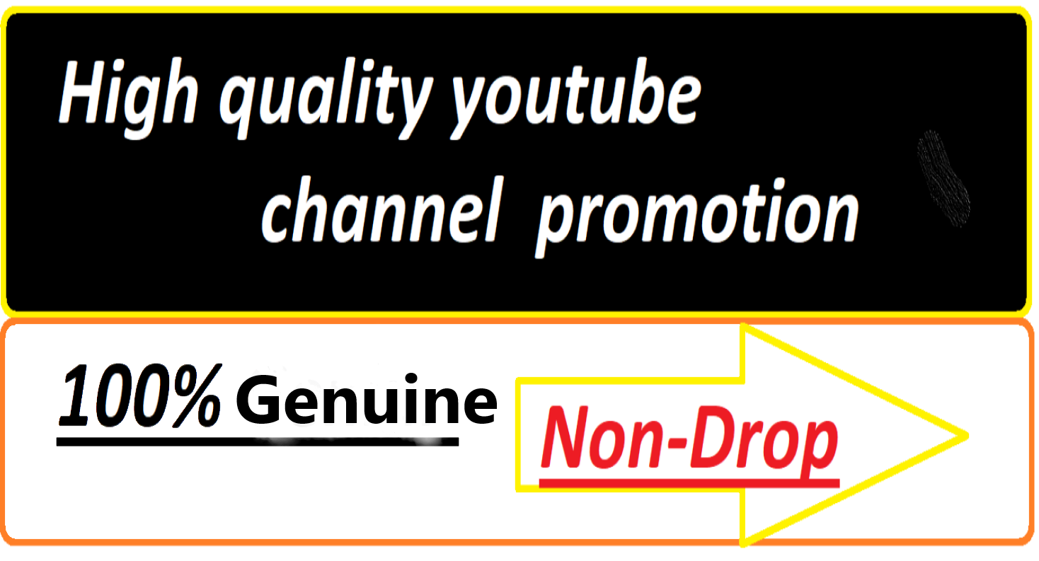 instant start YouTube promotion and social media marketing