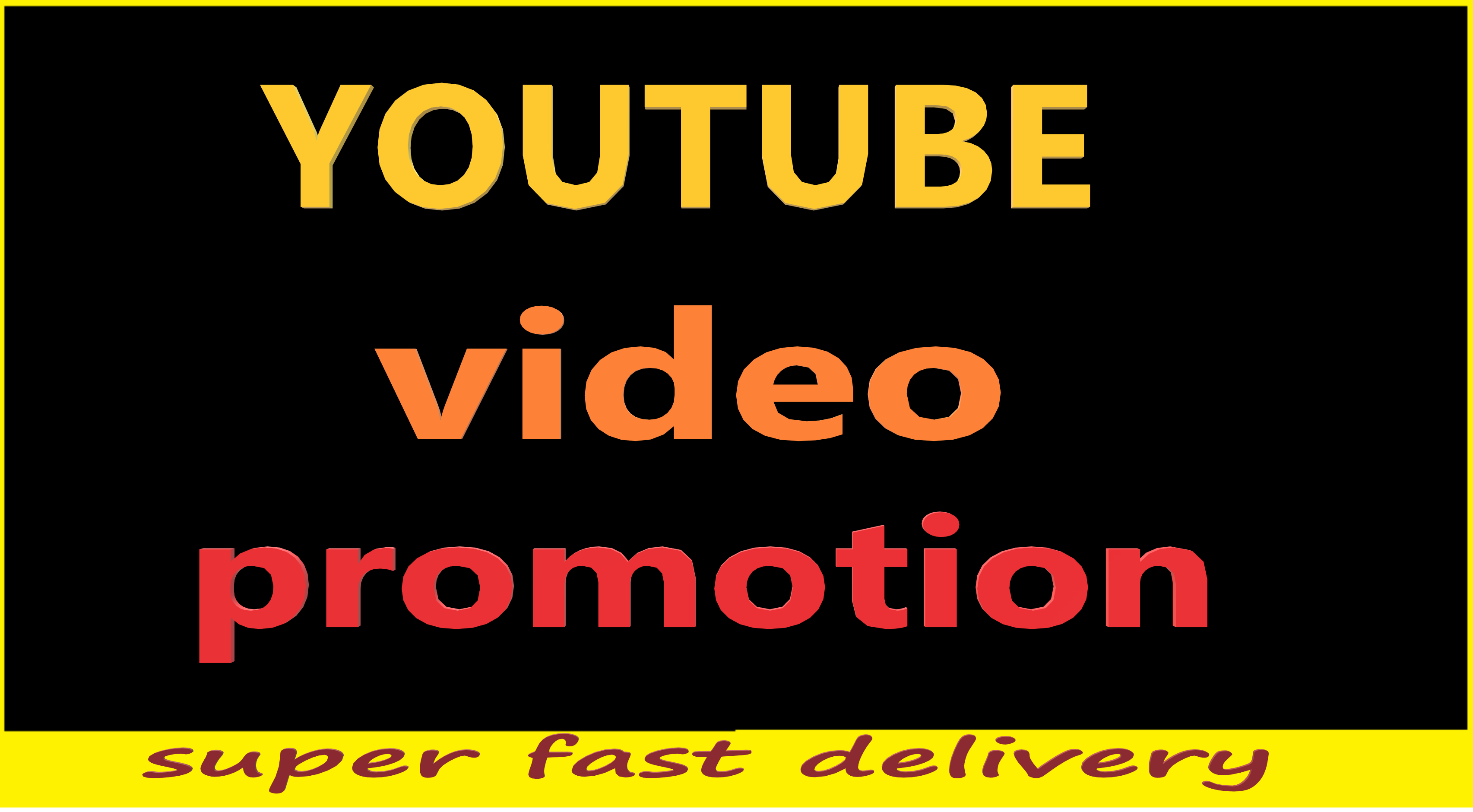 YouTube video promotion viral video and make it video ranking