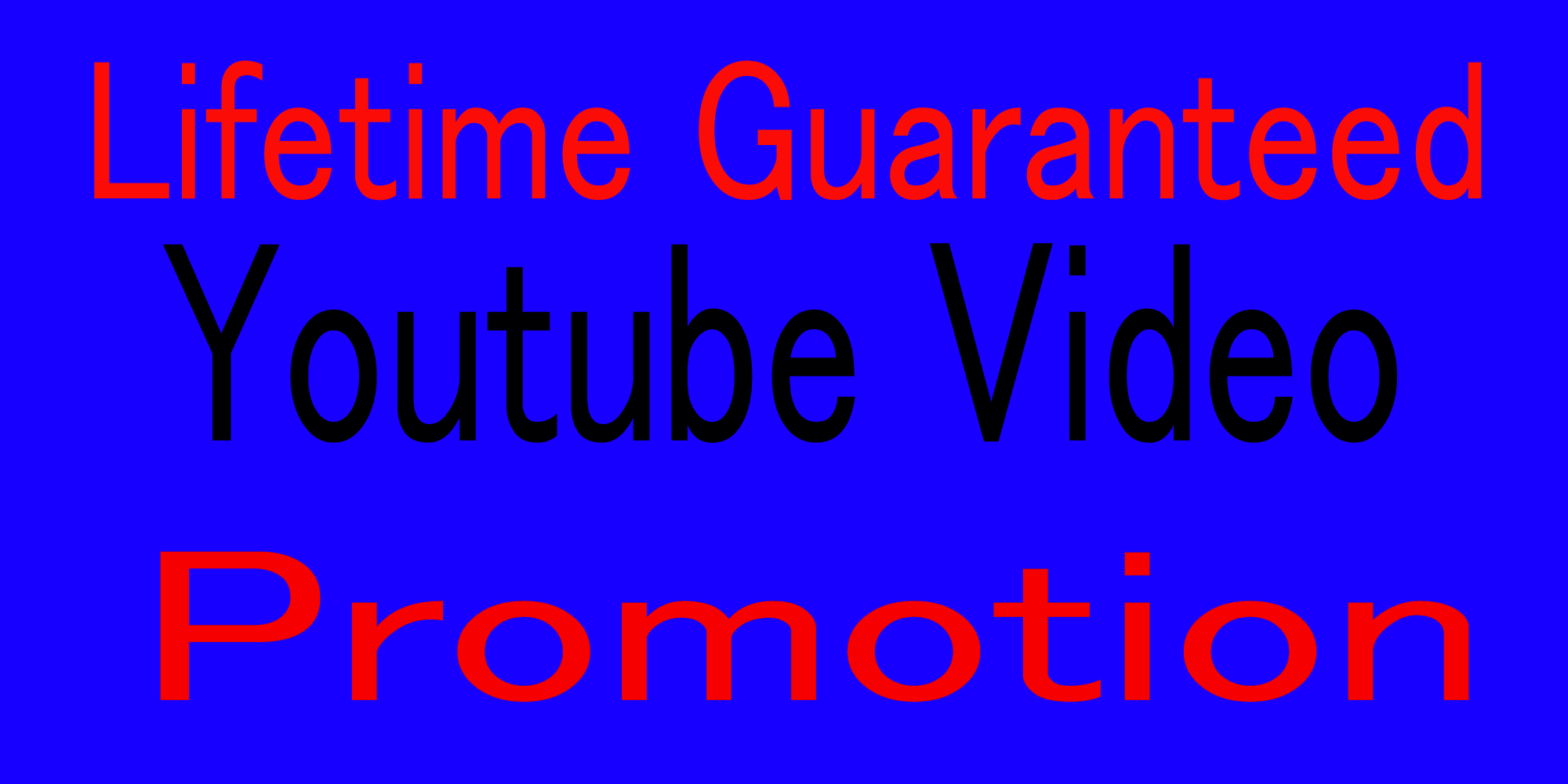 HQ YouTube music and video promotion via social media marketing