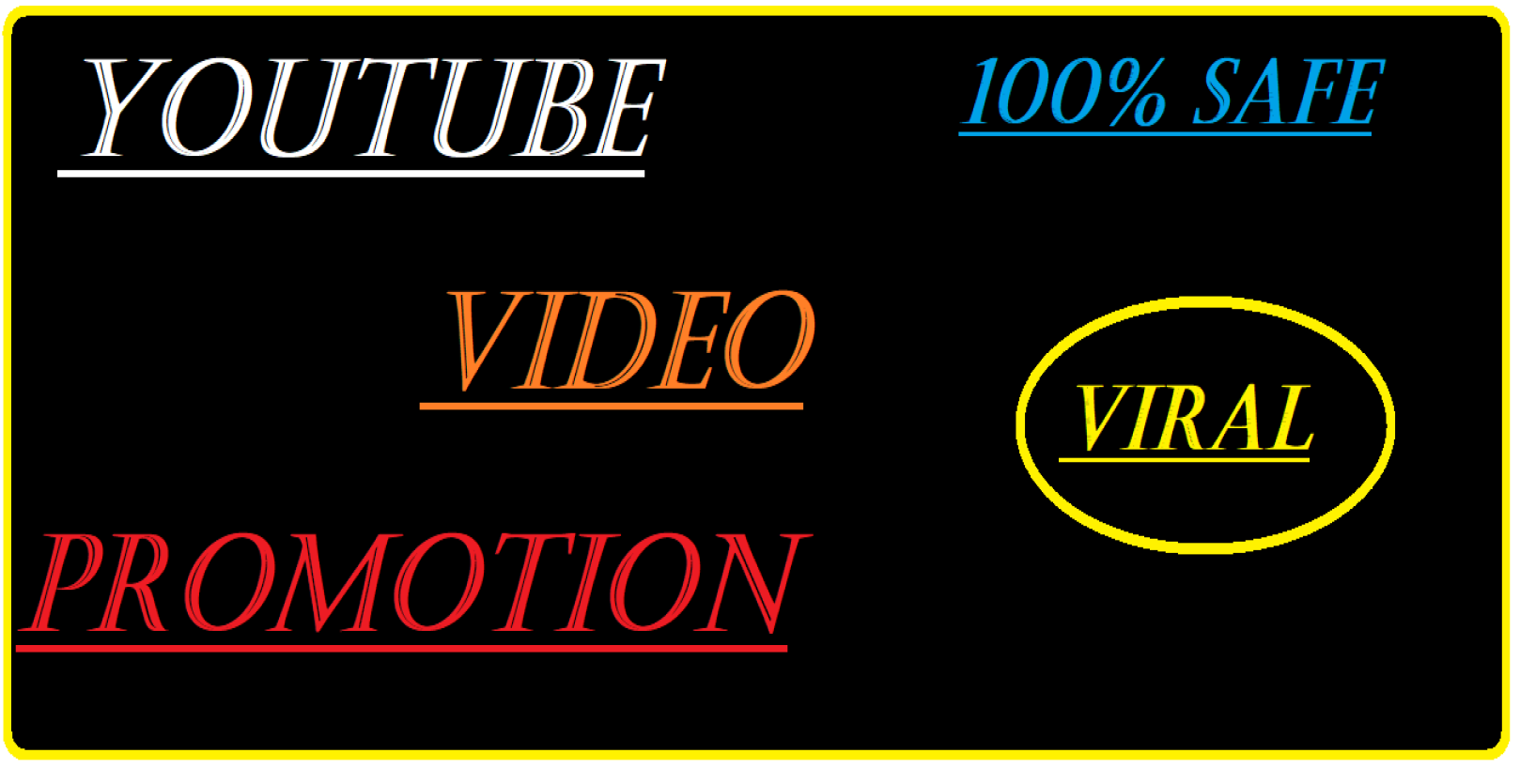 Organic instant start YouTube video promotion via seo marketing