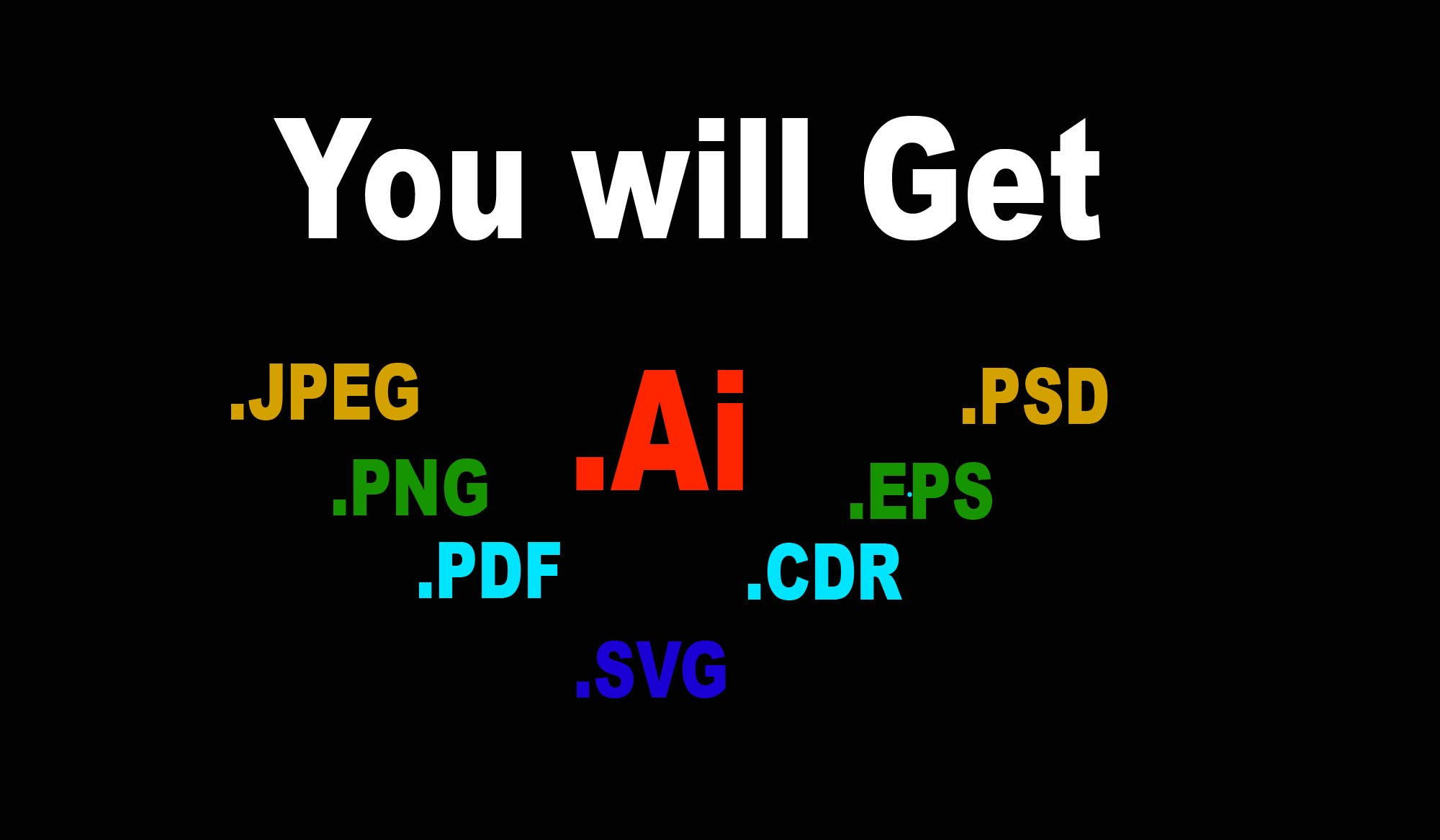 I will convert logo image in vector ai,eps,pdf,png,cdr high quality