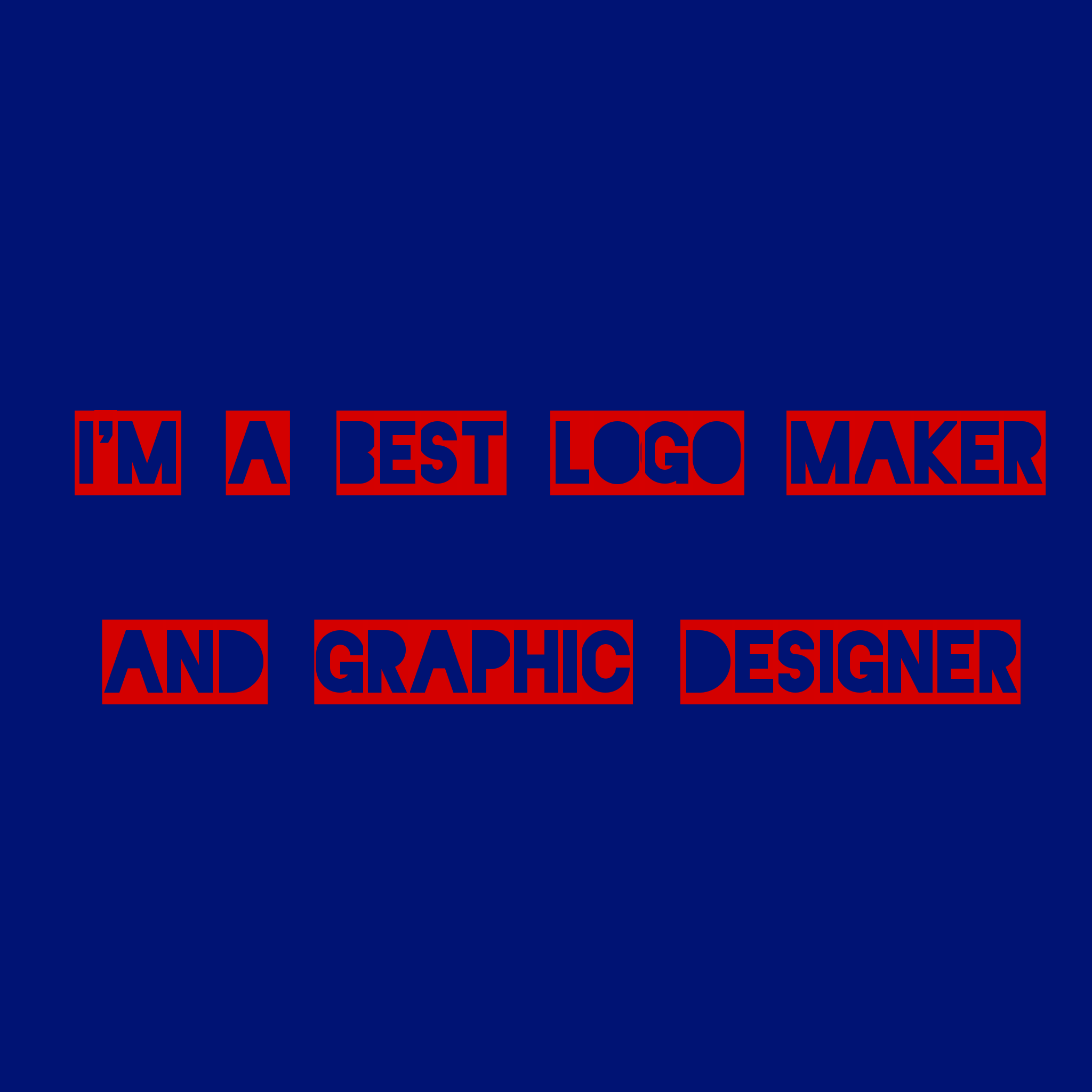 We Can Make The Best Logo In Short Term