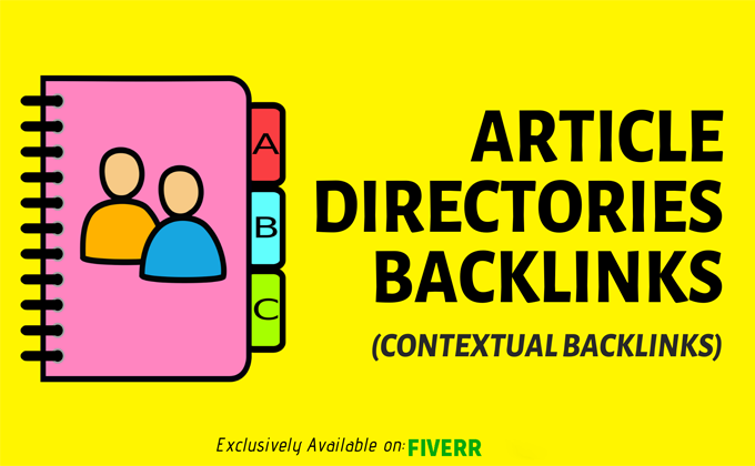create 4000 article directories backlinks
