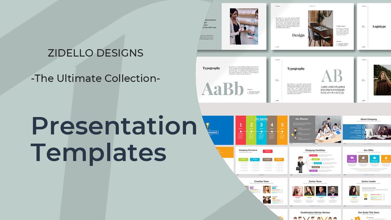 I will provide 100+ presentation templates