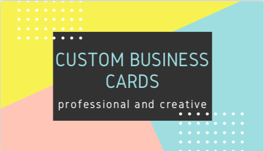 custom business cards for your company