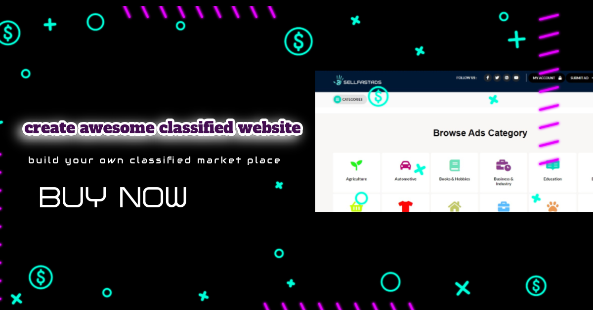 I will setup classified or add listing WordPress site for you