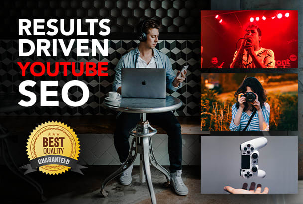 I will quickly Rank your You-Tube videos with SEO in first page