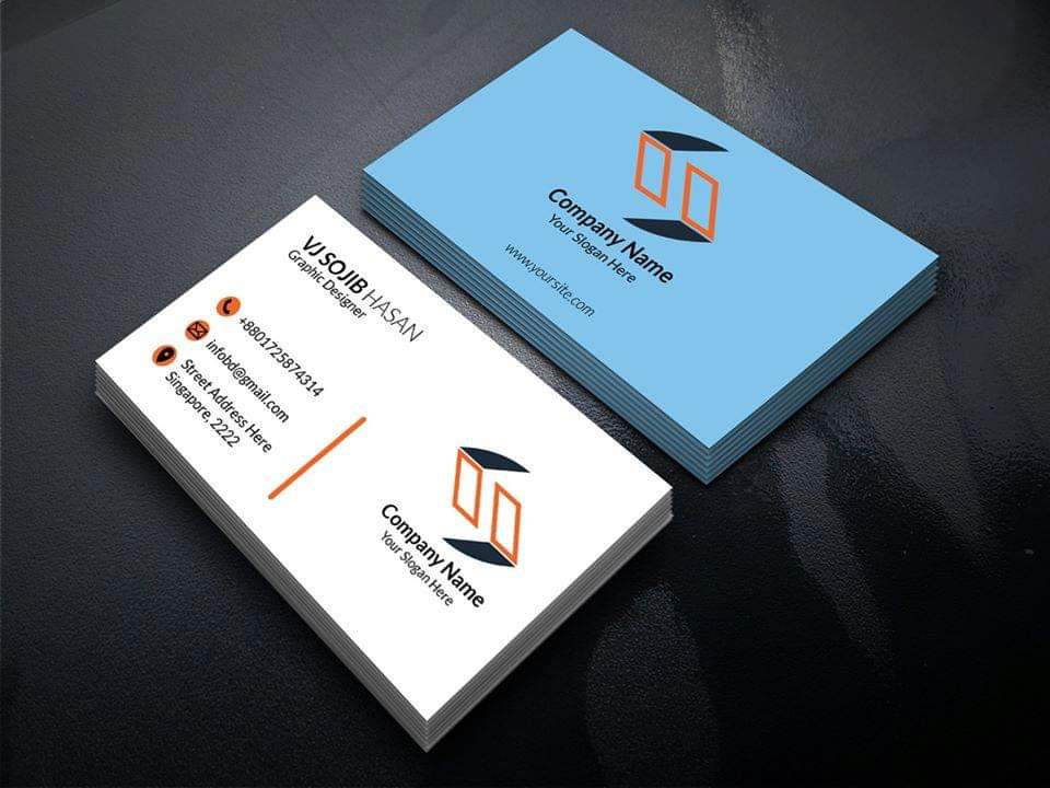 Design a outstanding business card in 5- 6 hrs