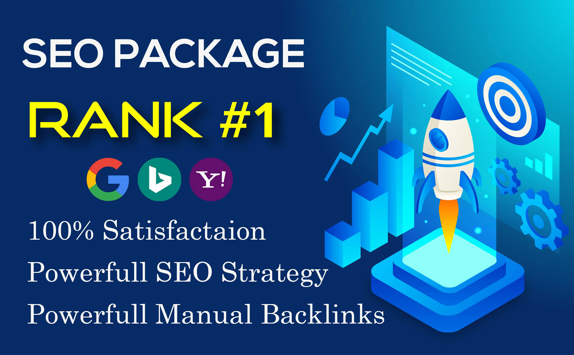 I Will Create Seo backlink package for your website ranking