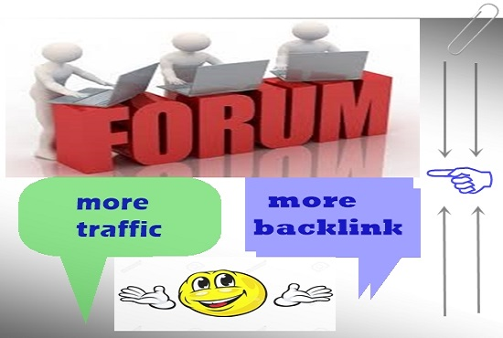 I will provide 20 Forex Trading Forum post and created high authority backlink