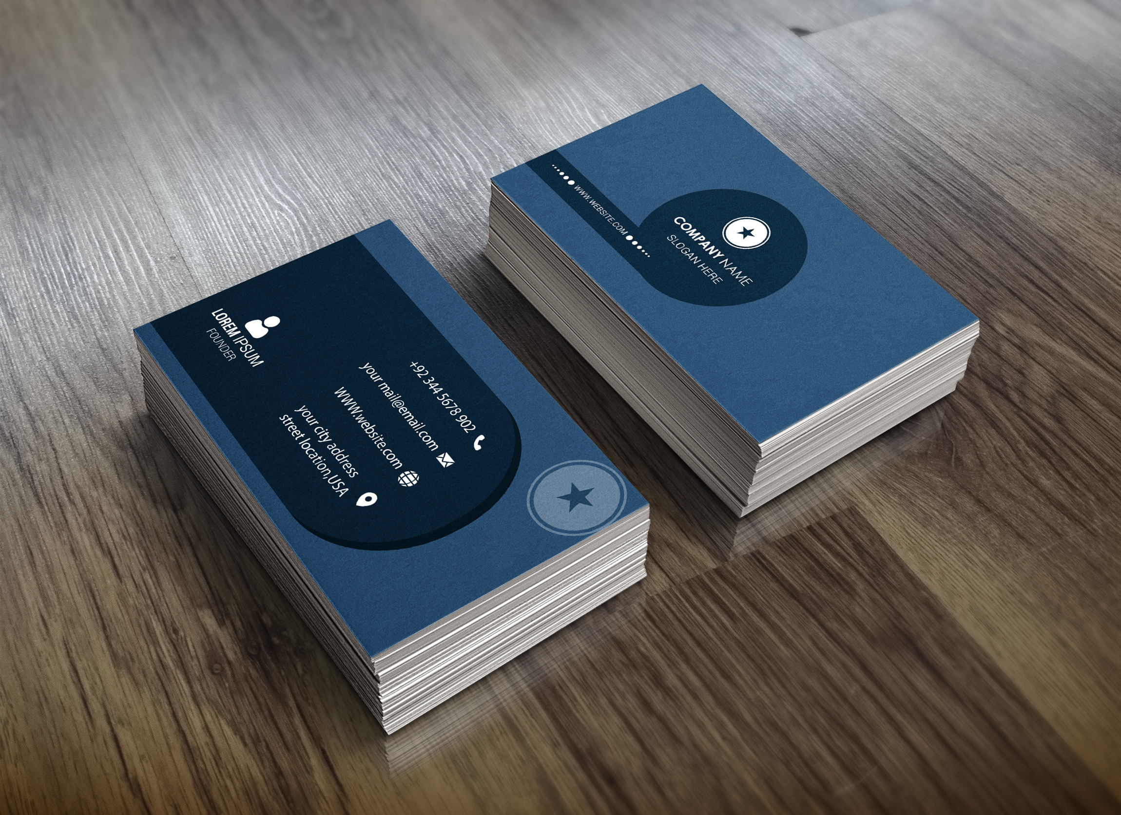I Will Provide A Unique And Professional Business Card For Your Business Within 24 Hour
