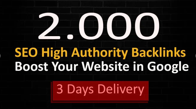 I will make high quality da 40 plus 1000 SEO backlinks