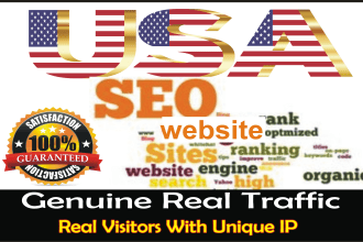 I will Drive unlimited traffic from usa to your site blog or product