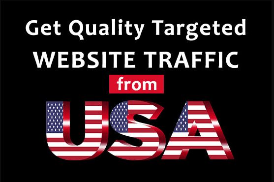 Drive Targeted USA Web Traffic to your site,bog or product