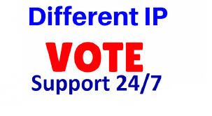 Offer 1000 Guaranteed Different IP Votes In Your Voting Contest for 23