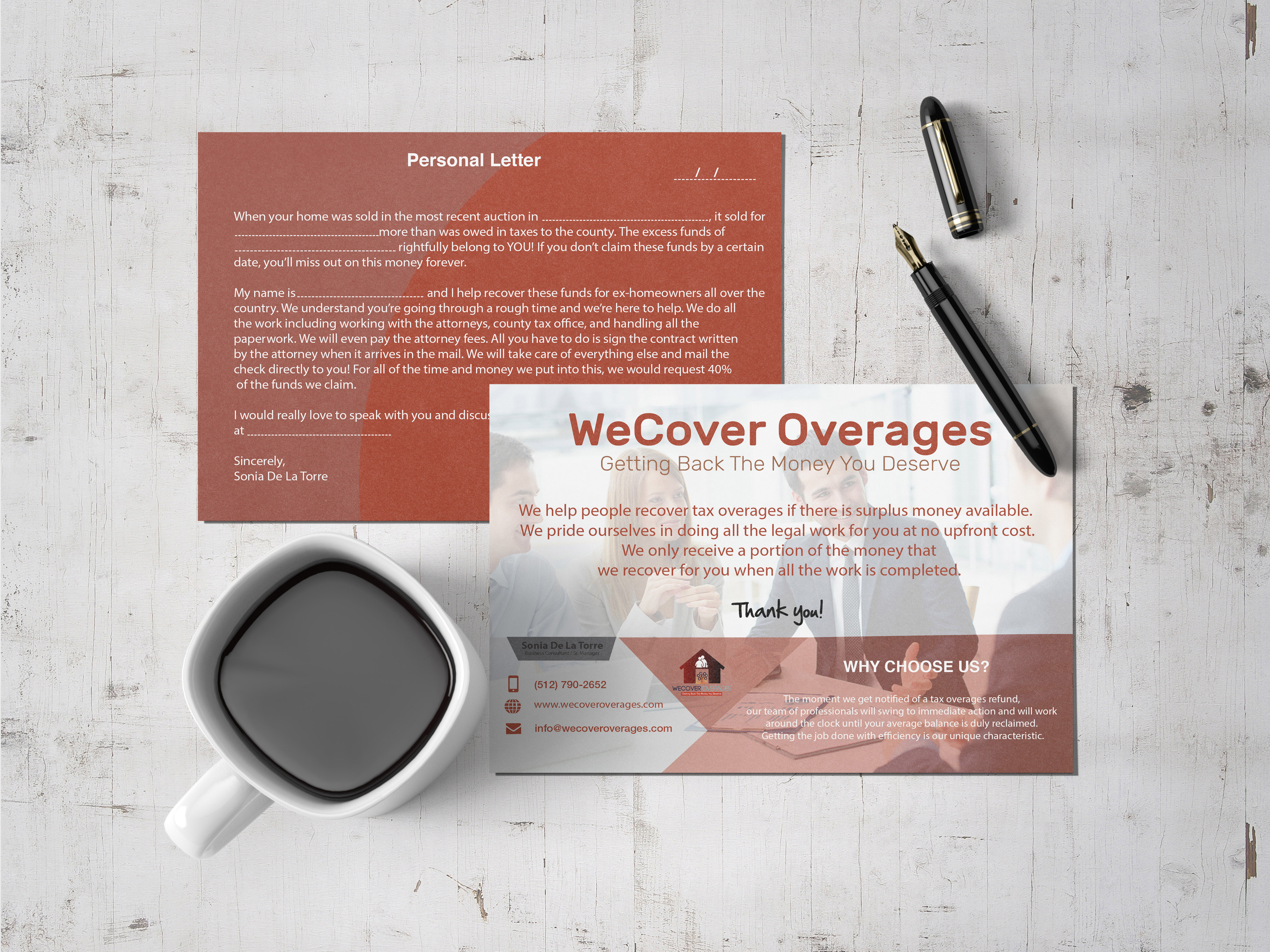 I will design postcard design and business card design