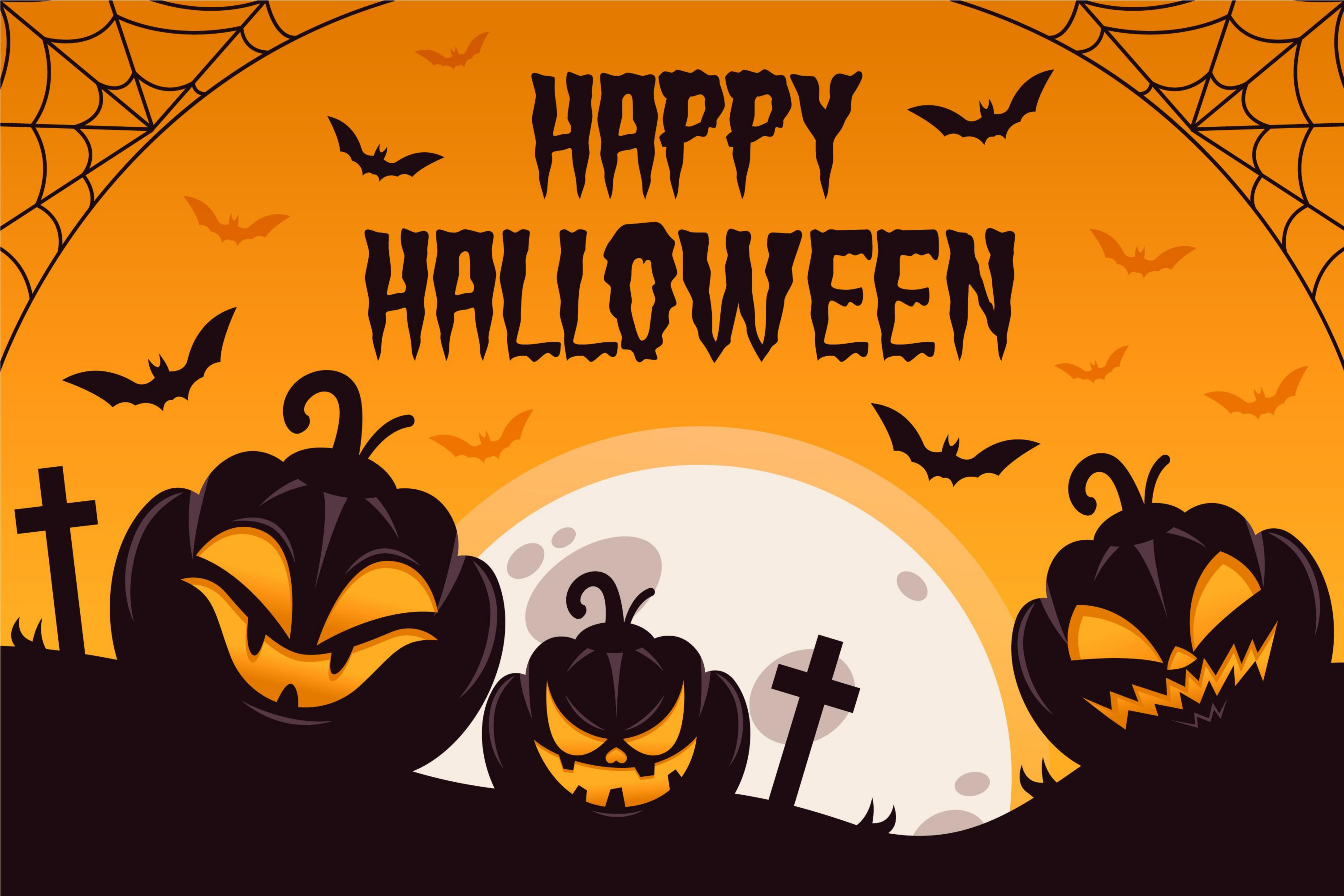 Do fascinating Halloween flyers and posters
