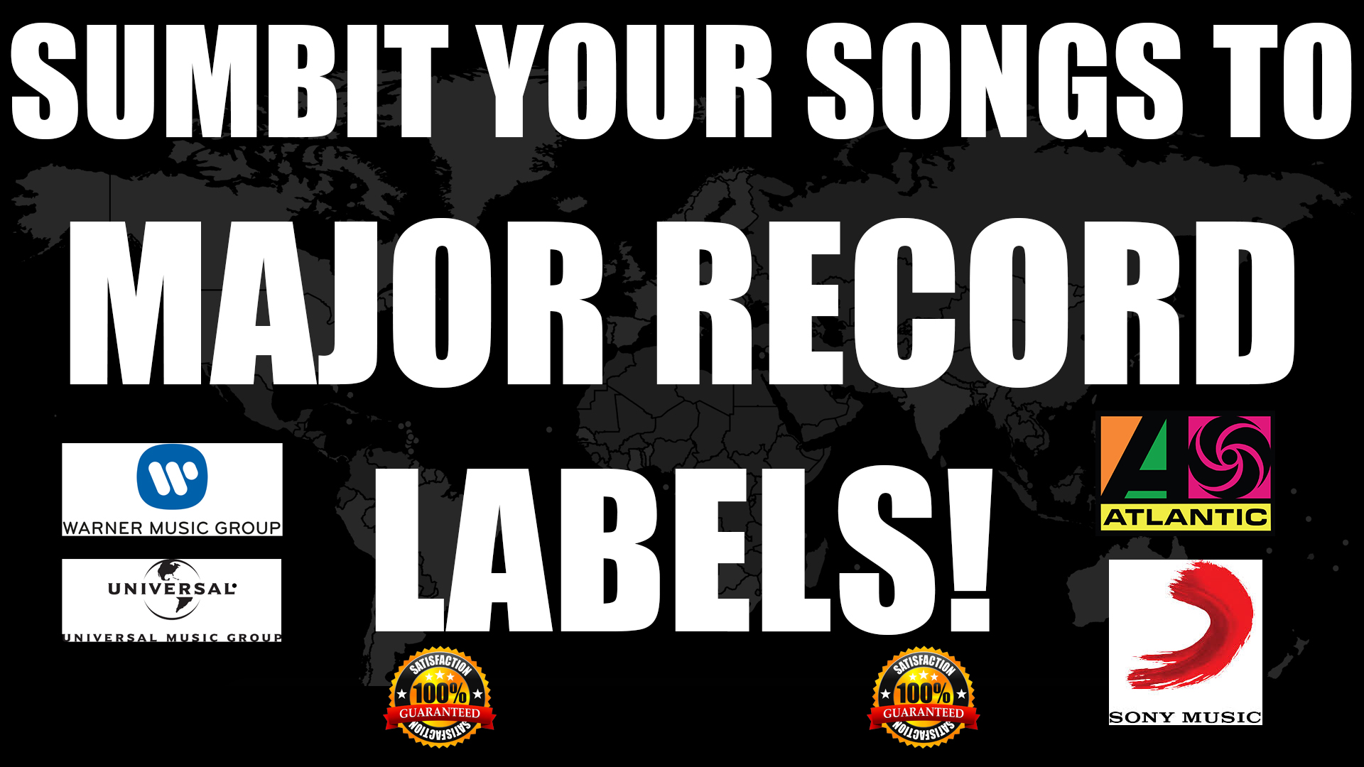 We'll Help Submit Your Music To Major And Indie Record Labels