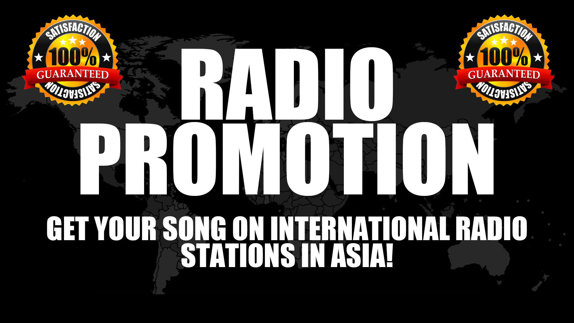 Get Your Songs Played On Major Asian International Radio Stations