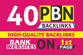 40 High quality PBN Backlinks with High PA DA TF CF