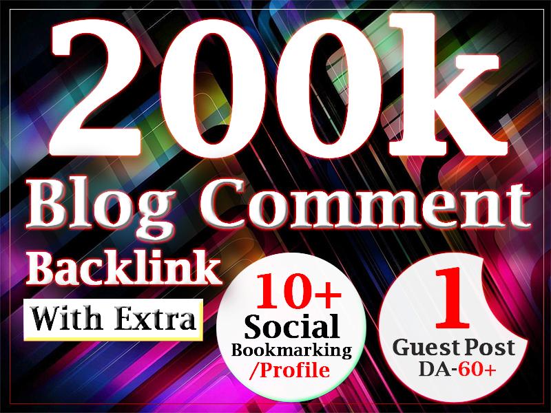 200000 blog comment gsa ser dofollow backlink for ranking