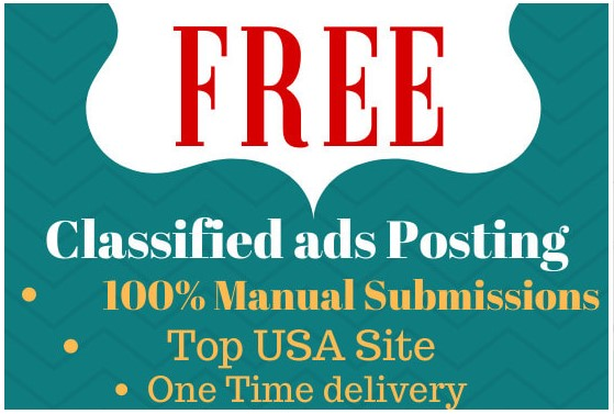 I will post your ads in top classified ads posting site in USA