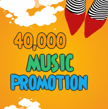 forty Thousand High Quality Music promotion real Organic Track